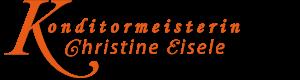Konditormeisterin Christine Eisele